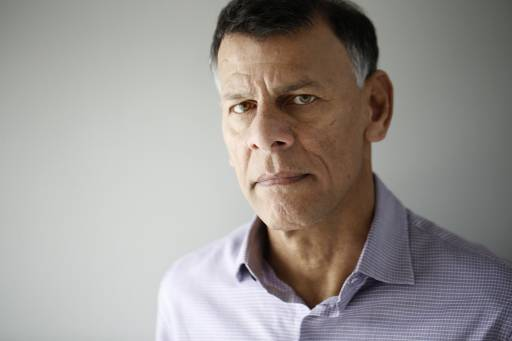 Hassan Yussuff, Canadian Labour Congress president, at Third Floor York in Ottawa March 7, 2016. Photo by Blair Gable