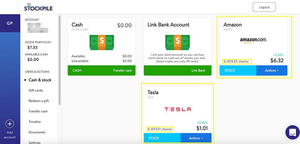 Stockpile Desktop Dashboard