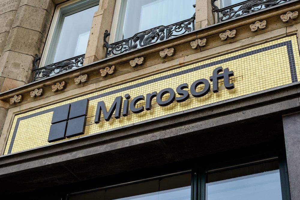 Microsoft blockchain crypto