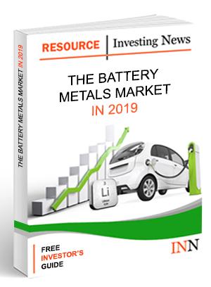 battery metals outlook report 2018