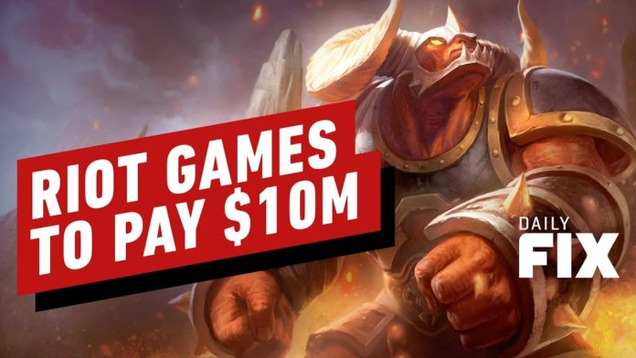 Riot Games to Pay $10M in Gender Discrimination Lawsuit