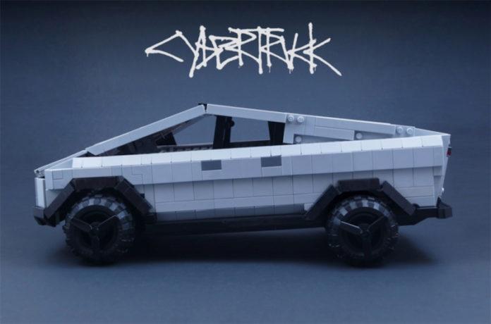 Tesla Cybertruck in LEGO