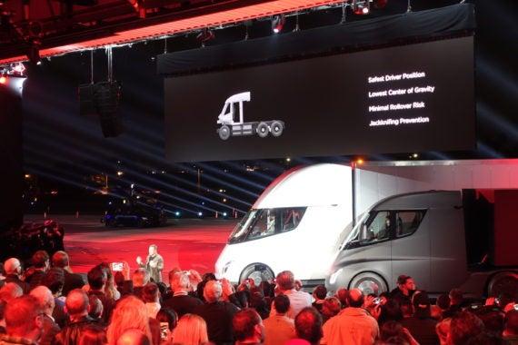 Tesla #7 On FreightTech 25 List