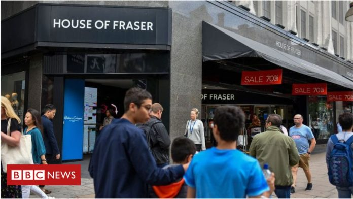 More House of Fraser stores to close, warns Mike Ashley