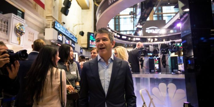 Uber Co-Founder Travis Kalanick Cuts Stake in Company by More Than 90%