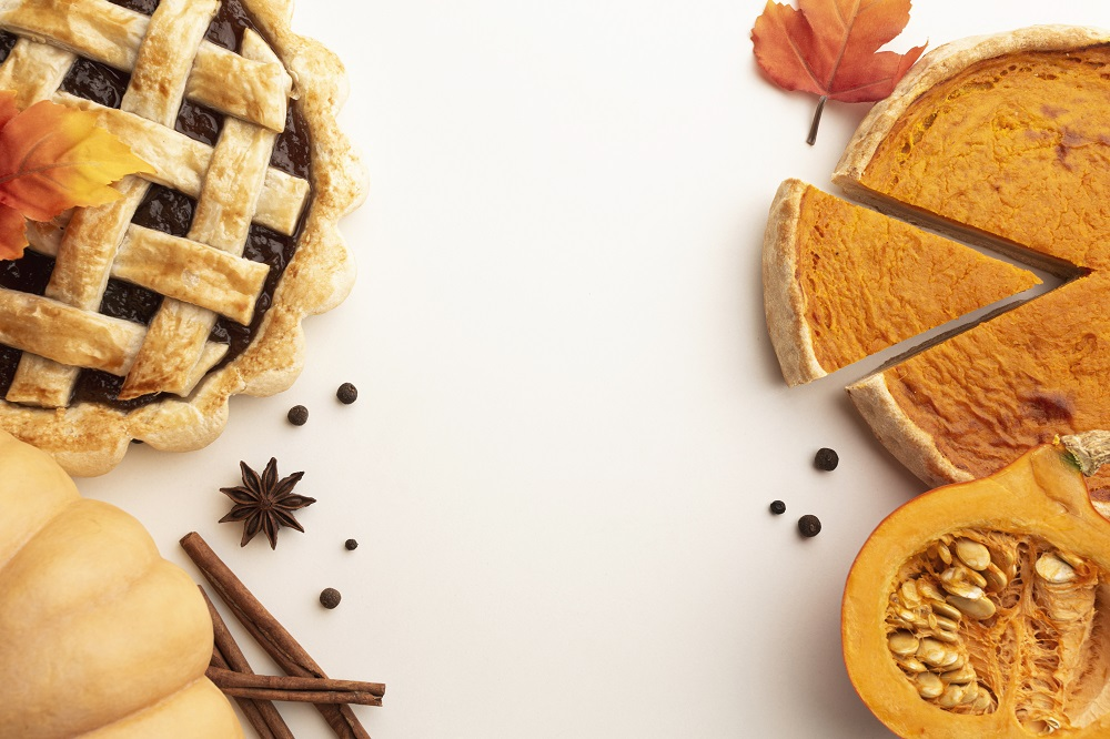 Pumpkin Pie - 3rd most popular pie in America