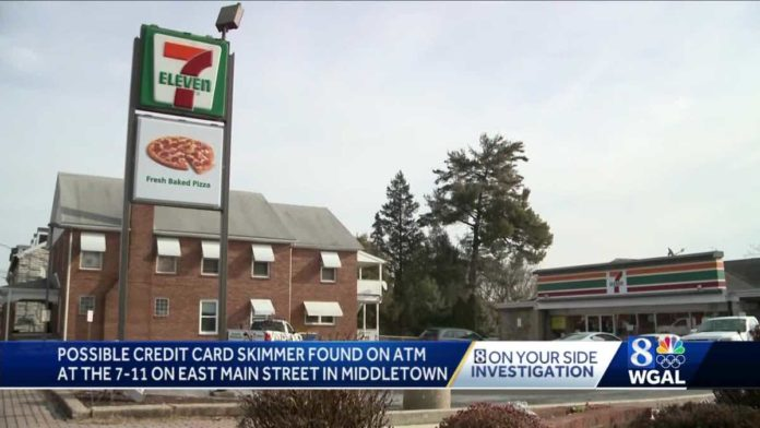 Police investigating possible skimmer on ATM at 7-Eleven in Dauphin County