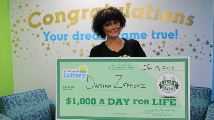 Winston-Salem woman becomes third North Carolinian to win top lottery prize -Salem