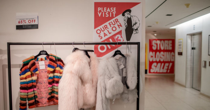 Barneys Workers Feel Used as They March Store Toward Death