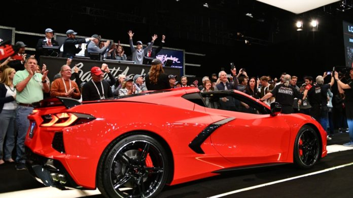 Tires stolen off 2020 Corvette Stingray in Detroit ahead of production