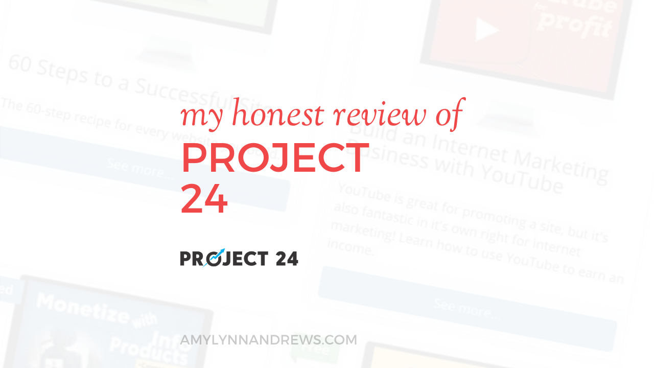 Project 24 review from Income School