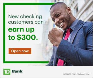 td bank checking account bonus offer