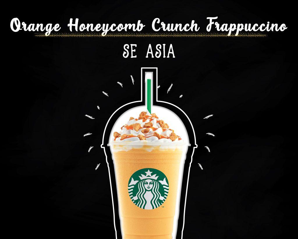 Orange-Honeycomb-Crunch-Frappuccino-Starbucks-Menu-Around-The-World
