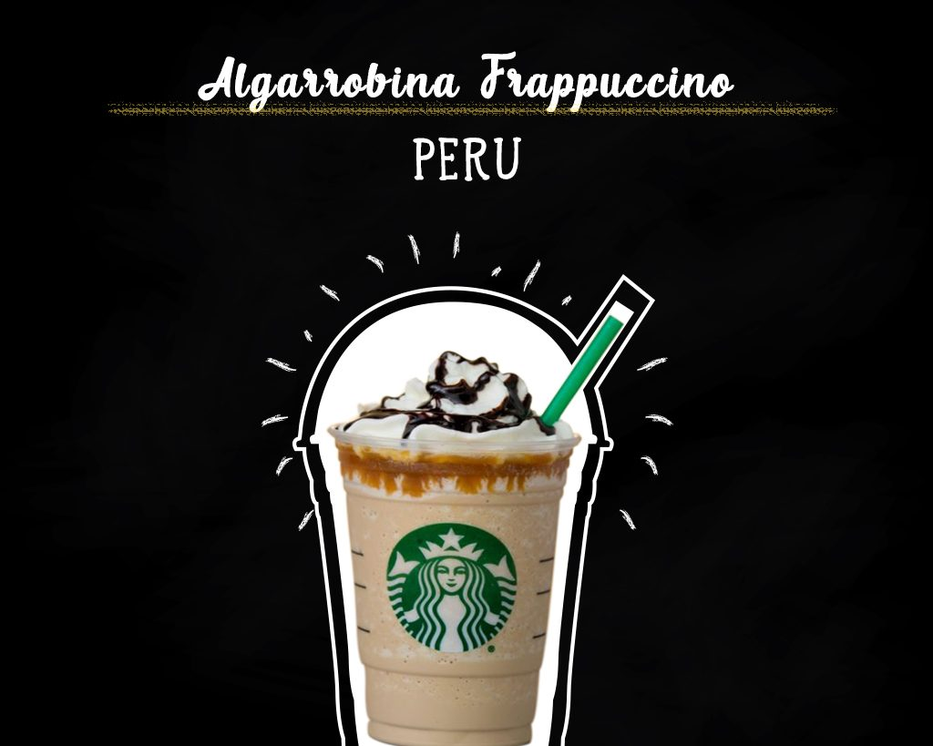 Algarrobina Frappuccino - Peru new