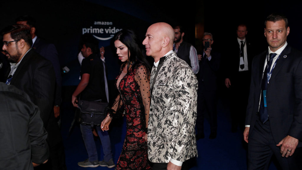 Jeff Bezos Is Being Sued By His Girlfriends Brother For