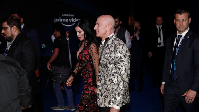 Amazon's Jeff Bezos sued for defamation by his girlfriend's brother