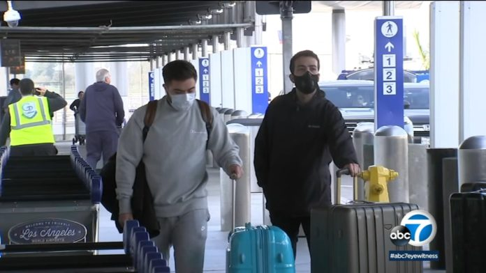 New travel restrictions go into effect at 7 US airports, including LAX, amid coronavirus concerns -TV
