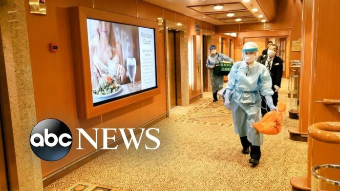 Cruise ship passengers stranded as concerns over spread of coronavirus grow