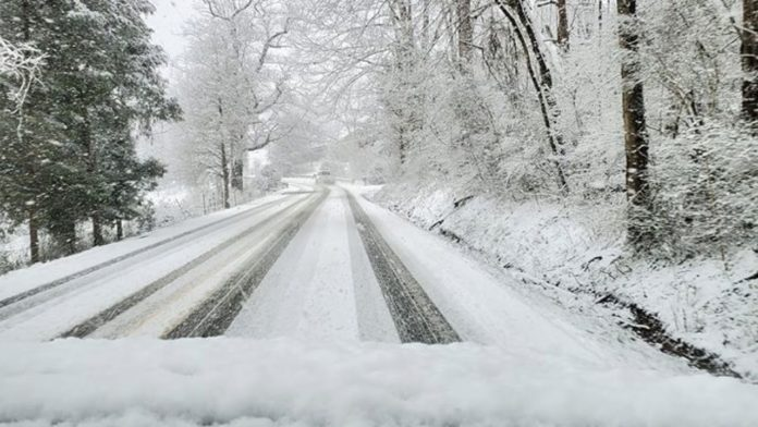 Here is a look at what East Tennessee is looking like during the snowfall