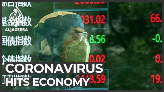 Markets head for worst week since 2008 as coronavirus cases surge
