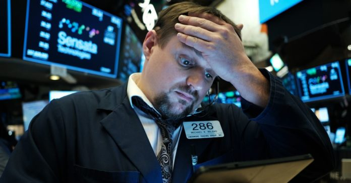 A stock market fall may be a bad time to sell
