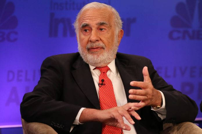 Icahn is shorting the commercial real estate market, which he says is going to 'blow up'