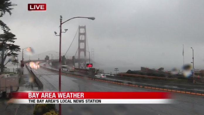 How long will the rain last in the Bay Area?