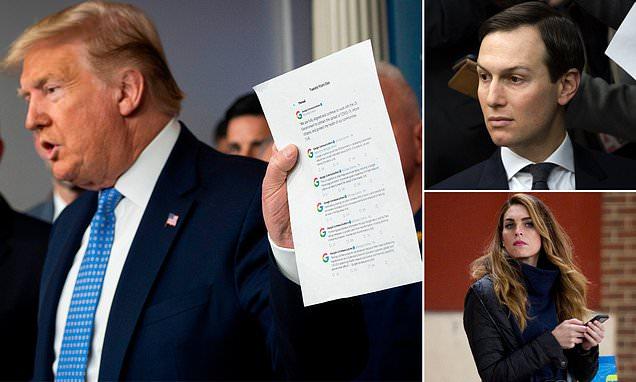 Coronavirus US: Trump angry with Kushner over site mix-up