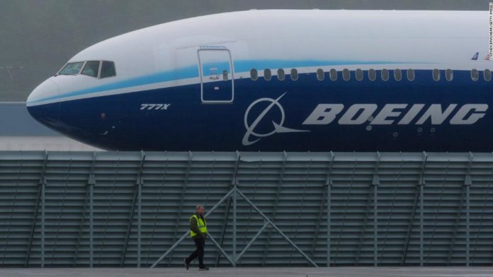 President Trump says he supports a bailout for Boeing