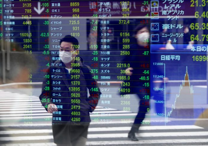 Asia shares turn quietly cautious, U.S. crude crushed