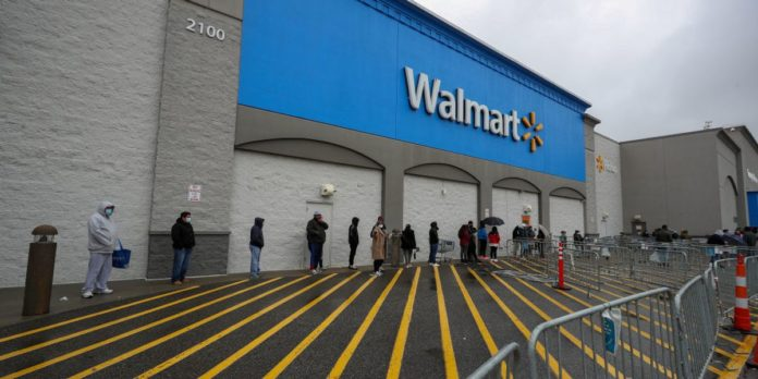 Walmart and Sam's Club to require all employees to wear face masks starting Monday