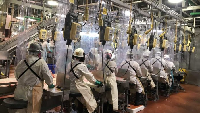 Tyson's Perry plant suspends production for cleaning after positive COVID-19 cases