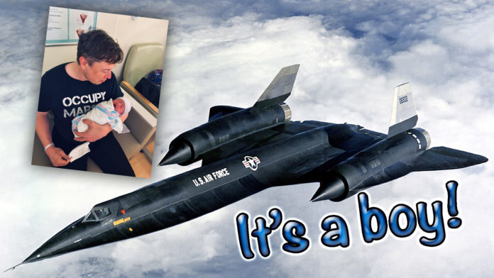 Elon Musk And His Partner Grimes Name Their Newborn After The A-12 Spy Plane
