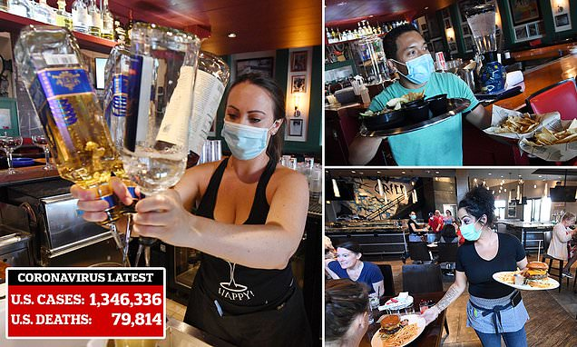 Bartenders get back to pouring drinks in Las Vegas as dine-in restaurants reopen