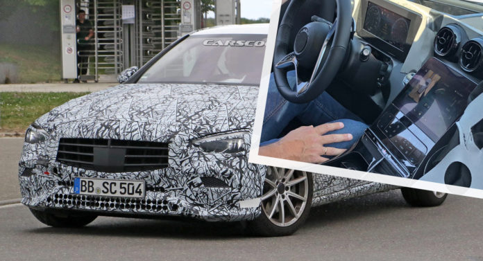 2021 Mercedes-Benz C-Class Flaunts Its Massive Tablet-Like Center Display