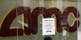 Movie theater chain AMC warns it may shutter permanently because of pandemic