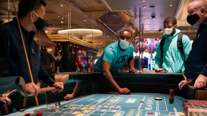 Las Vegas casinos, businesses open amid protests and COVID-19