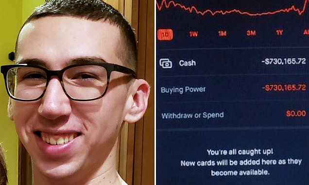 Man commits suicide after Robinhood glitch shows $730m debt