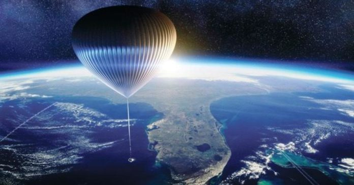Company plans space tourism flights in high-altitude balloon