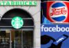 Starbucks pauses advertising on ALL social media while Pepsi joins boycott of Facebook