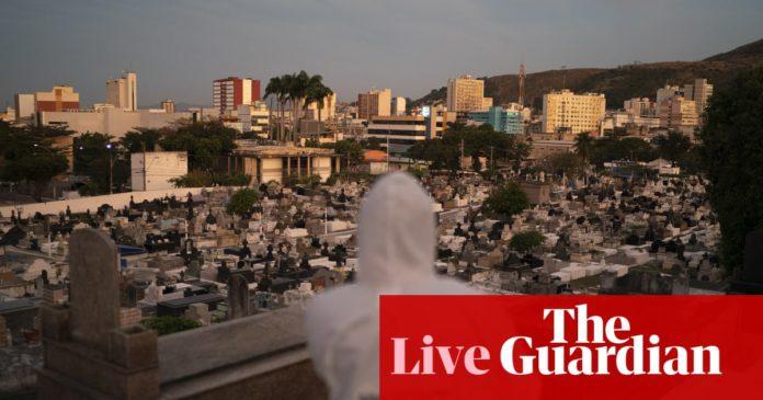 Coronavirus live news: US buys nearly all global remdesivir stocks as Brazil deaths near 60,000