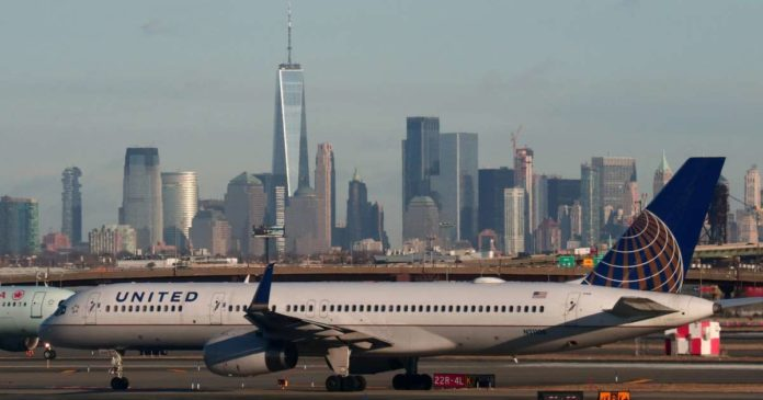 United Airlines is warning of tens of thousands of possible layoffs as new coronavirus outbreaks across the US slam the airline industry