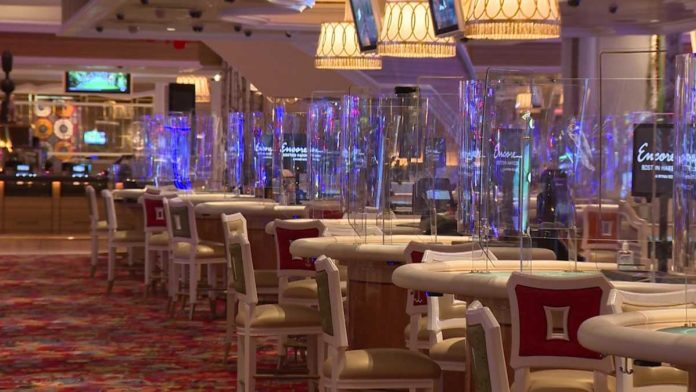 Here's what it'll look like inside Encore Boston Harbor when it reopens Sunday