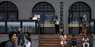 Starbucks Says Customers Must Wear Masks At Its Cafes