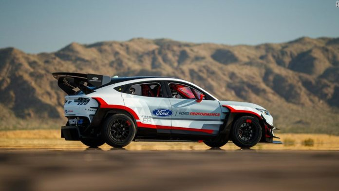Ford reveals an electric Mustang Mach-E SUV with 1,400 horsepower