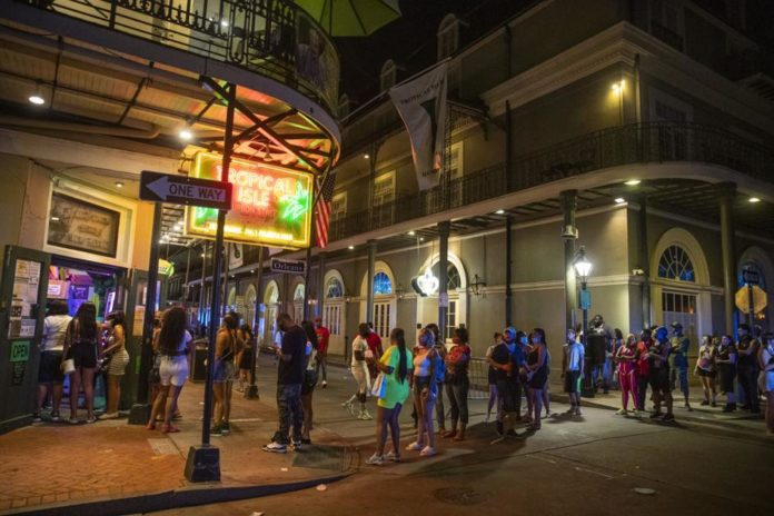 New Orleans shuts down bars, again, and bans go cups at restaurants amid coronavirus uptick