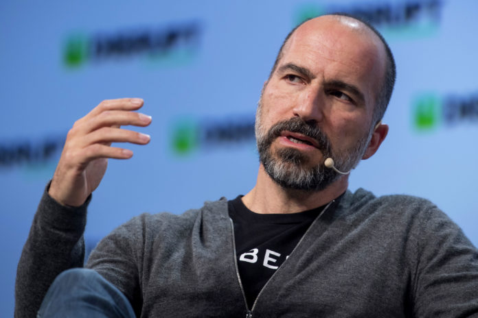 Uber CEO says its service will probably shut down temporarily in California if it's forced to classify drivers as employees