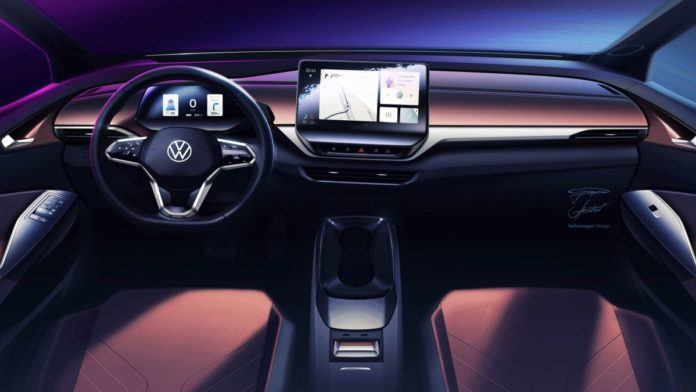 The Volkswagen ID.4's Interior Is Happily Uncluttered