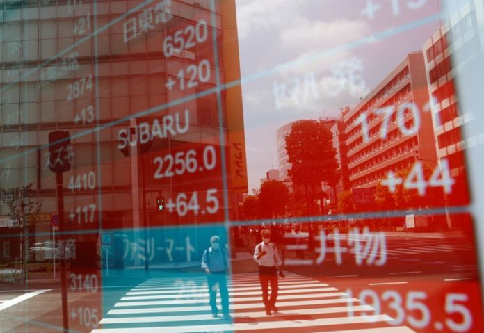 Asian shares on fragile footing amid elevated valuations, oil skids