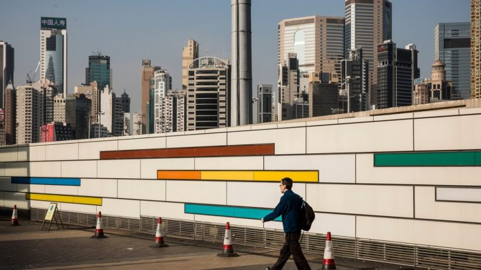 Asian markets start Monday lower with U.S. mired in three-week losing streak
